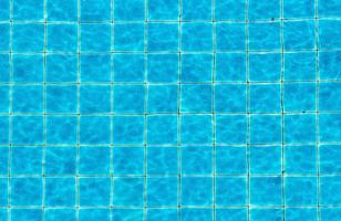 Top view swimming pool blue ripped water abstract background photo