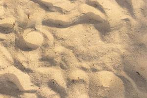 Sand on the beach texture for summer background photo