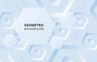 Abstract Hexagonal Shapes Background vector