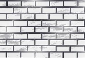 Vector image of a seamless pattern of textured brick wall in monochrome