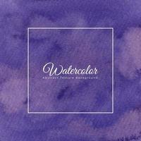 Purple watercolor abstract background texture vector