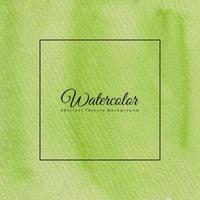 Green watercolor abstract background texture vector