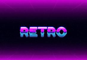 new modern purple retro background vector