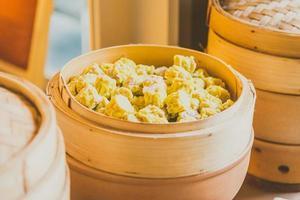 Bola de masa dimsum, comida china