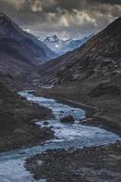 Panoramic Himalayan mountainscapes photo