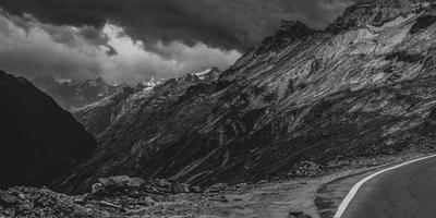 Panoramic Himalayan mountainscapes
