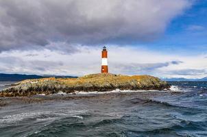 Lighthouse In Ushuaia, Argentina photo