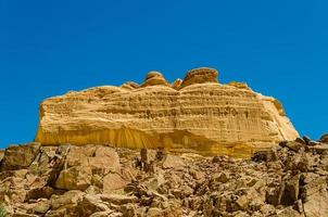 Plateau in the desert photo
