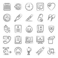 Healthcare and Fitness Accessories vector