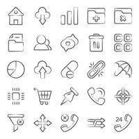 User Interface  and Technology vector