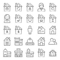 Buildings and Architectural Elements vector