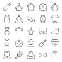 Grooming Accessories and Fashion vector