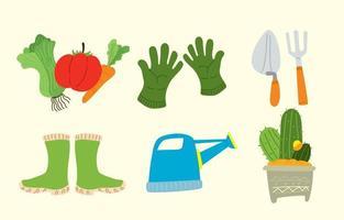 concepto de icono de jardinería vector