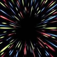 concepto de fondo de luz de neón