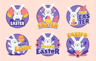Happy Easter Sticker Collection