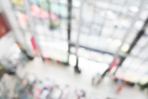 centro comercial de desenfoque abstracto para el fondo