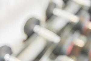 Mancuernas borrosas en el gimnasio, antecedentes