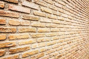 Fondo de texturas de pared de ladrillo foto