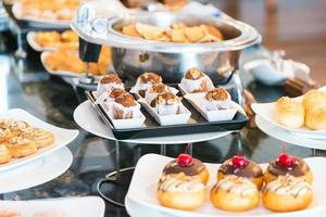 Catering buffet food photo