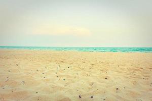 arena en la playa