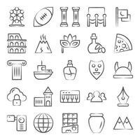 Culture and Communities Elements vector
