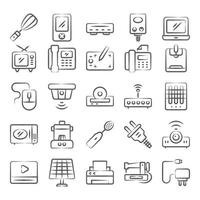 Home Appliances and Devices vector