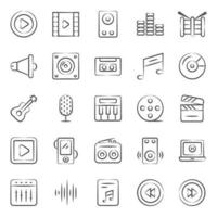 Music and Multimedia Instruments vector