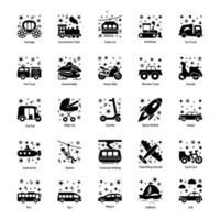 Trendy Automobile Elements vector