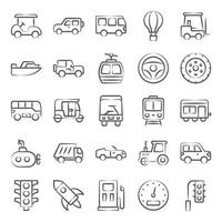 Transportation and Automobile vector