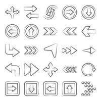 Directional  and Modern Arrow vector