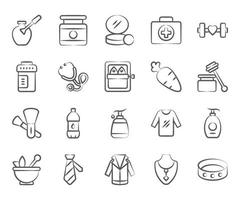 Health and Beauty Equipment vector