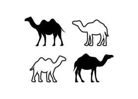 Camel icon design template vector illustration