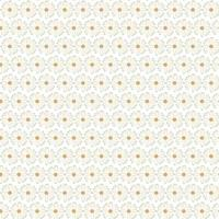 White Flower Pattern Free Vector