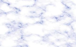 Stone texture white with blue marble background - Vector