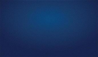 Fondo azul perforado azul con agujeros negros y resplandor vector