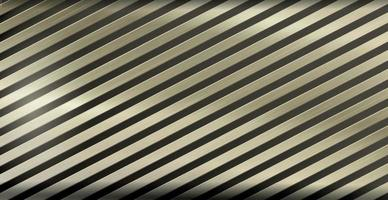 Light metal background with golden highlights, corrugated texture - Vector