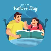 Celebrating Father's Day Concept vector