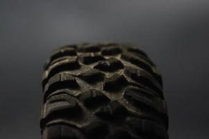 Tire of a car photo
