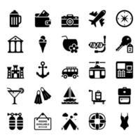 elementos de picnic y vacaciones. vector