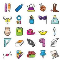 Sewing and Art Elements vector