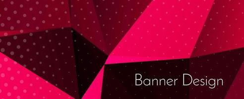 Abstract elegant geometric decorative design banner background vector