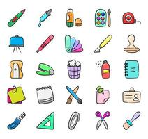 Stationery and Office Supplies vector