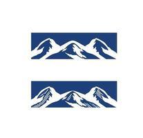 Mountain Logo Vector Sign