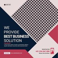 Modern corporate business marketing flyer modern abstract professional design vector