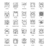 Farming and Ecology Elements vector