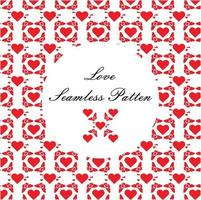 romantic love pattern. Perfect for crafts projects, background, graphic design, scrapbooking and other vector