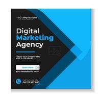 Digital Marketing Corporate Social Media Post