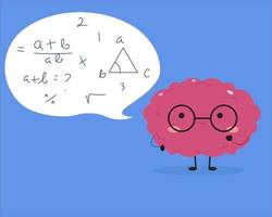 Kawaii brain trying to solve math vector