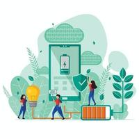 Green Technology Concept vector