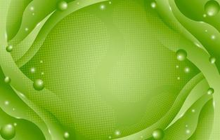 Gradient Abstract Green Background Composition vector